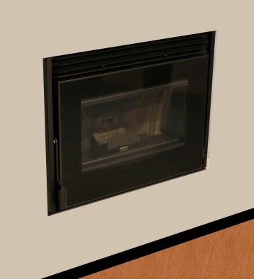 Pelletkachels Extraflame Dz700 Glazen Front Comfort Mini