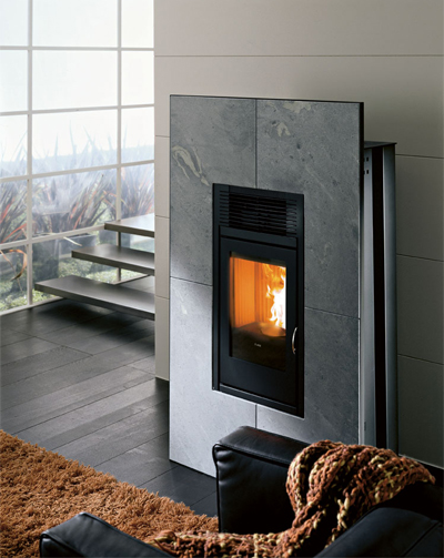 pelletkachel mcz modulo. Black Bedroom Furniture Sets. Home Design Ideas